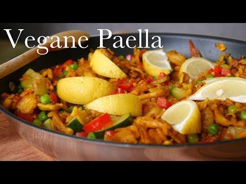Vegane Paella | Mach's Vegan!