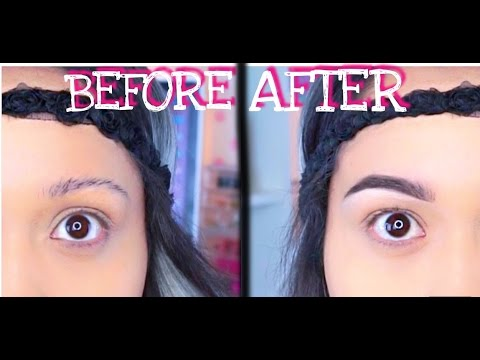 How to: Get your eyebrows on fleek (Natural) | Miriam Marroquin