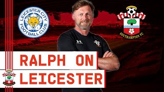 PRESS CONFERENCE: Hasenhüttl previews Leicester clash
