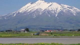 細川たかしが命の雄叫び、 津軽の風景、岩木山から吹き降ろす雪の舞い、...