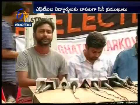 FTII Strike; Celebrities From Film Industry Lends Support; Returns Their Awards