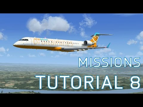FSX Edinburgh to Glasgow - Missions: Tutorial 8 | On-Going Series - Episode 60