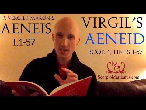 Virgil's Aeneid Book 1, lines 1-57 / Aeneis Vergilii I.1-57