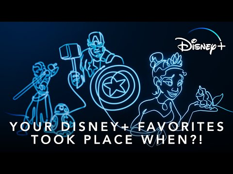 Your Disney+ Favorites Took Place When?! | Disney+