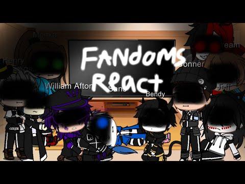 Fandoms React To Memes/Videos E1 GC