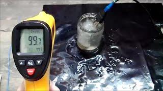 Хороший пирометр с термопарой!(ИК термометр)Обзор и тест!