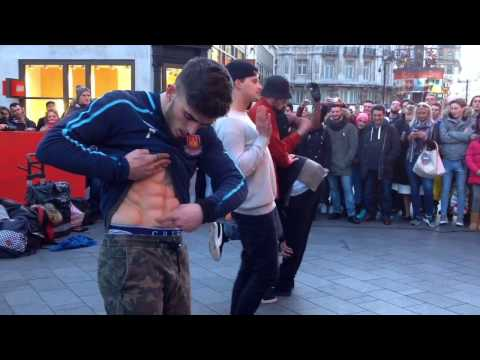GANGNAM STYLE I LEICESTER SQUARE LONDON I STREET DANCING 2016
