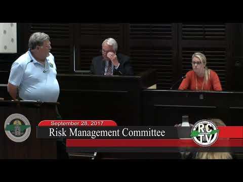 Risk Management Committee - September 28, 2017