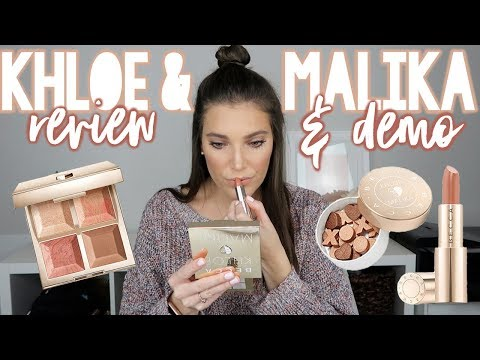 BECCA X KHLOE & MALIKA #BECCABFFS COLLECTION REVIEW & DEMO | VLOGMAS DAY 23 | Sarah Brithinee