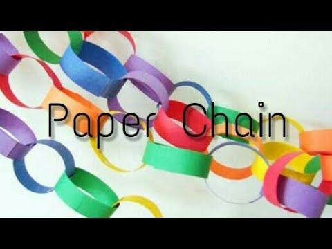 DIY | Diwali Special | Paper Chain | Diwali Decoration | Paper Craft|Bharti's Creative Art And Craft