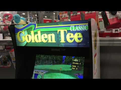 Arcade1Up Full Price At Best Buy Golden Tee Arcade 1Up Golf from rarecoolitems