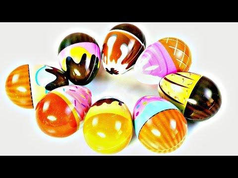 Huevos Sorpresa de Helados con Juguetes My Little Pony Huevos Kinder Lalaloopsy Sofia Surprise Eggs