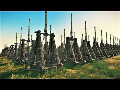 1500 Trebuchets Vs 8000 Spear Guards Three Kingdoms Total War
