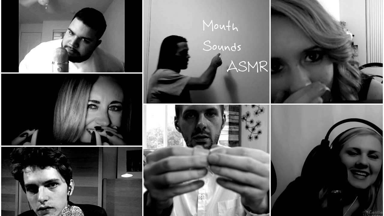 ASMR ODDLY SATISFYING MOUTH SOUNDS COMPILATION - YouTube