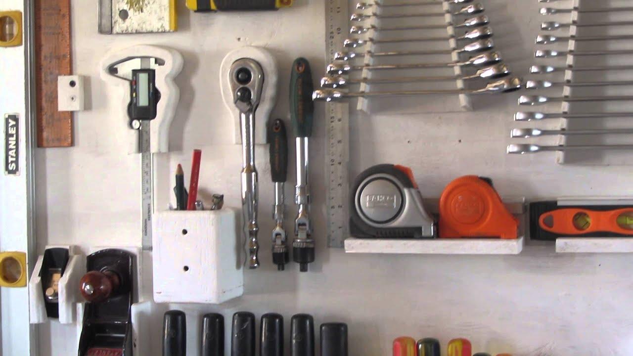 Hand tool storage mi panel de herramientas youtube - Tablero de herramientas ...