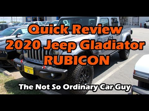 2020 Jeep Gladiator Rubicon - Launch Edition
