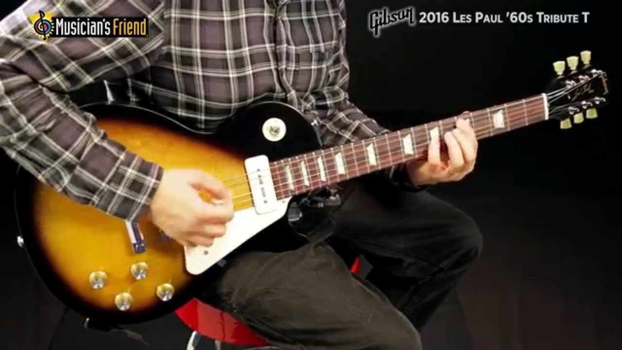gibson 2016 les paul 39 60s tribute t youtube. Black Bedroom Furniture Sets. Home Design Ideas