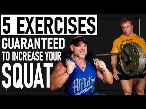 *5* Exercises GUARANTEED To Increase Your Squat