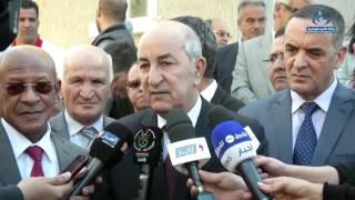 تبون: الحكومة تدرس منح صفقات بالتراضي لإنجاز مرافق عمومية في أحياء عدل