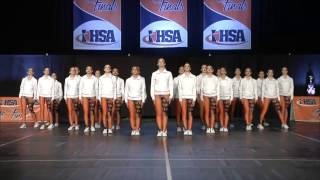 lincoln way west varsity dance team state 2017