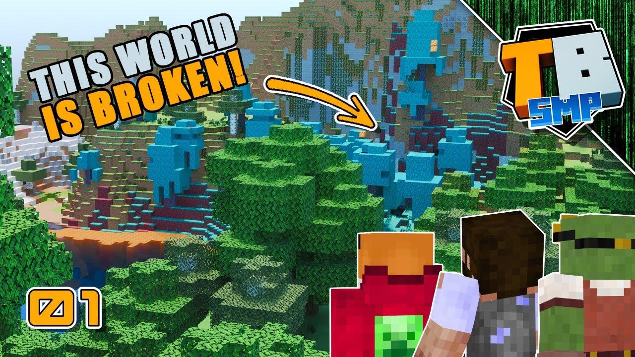 This seed is so broken! | Truly Bedrock Season 3 [01] Minecraft 1.17 Bedrock SMP