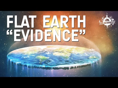 """""""Evidence"""" for flat earth theories thumbnail"""