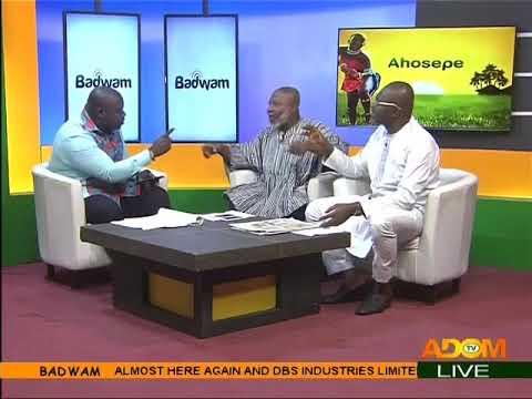'Corruption is reducing under my tenure' - Badwam Mpensenpensenmu on Adom TV (22-5-18)