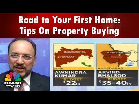 First Time Home Buyer | Road to Your First Home: Tips On Property Buying | CNBC TV18