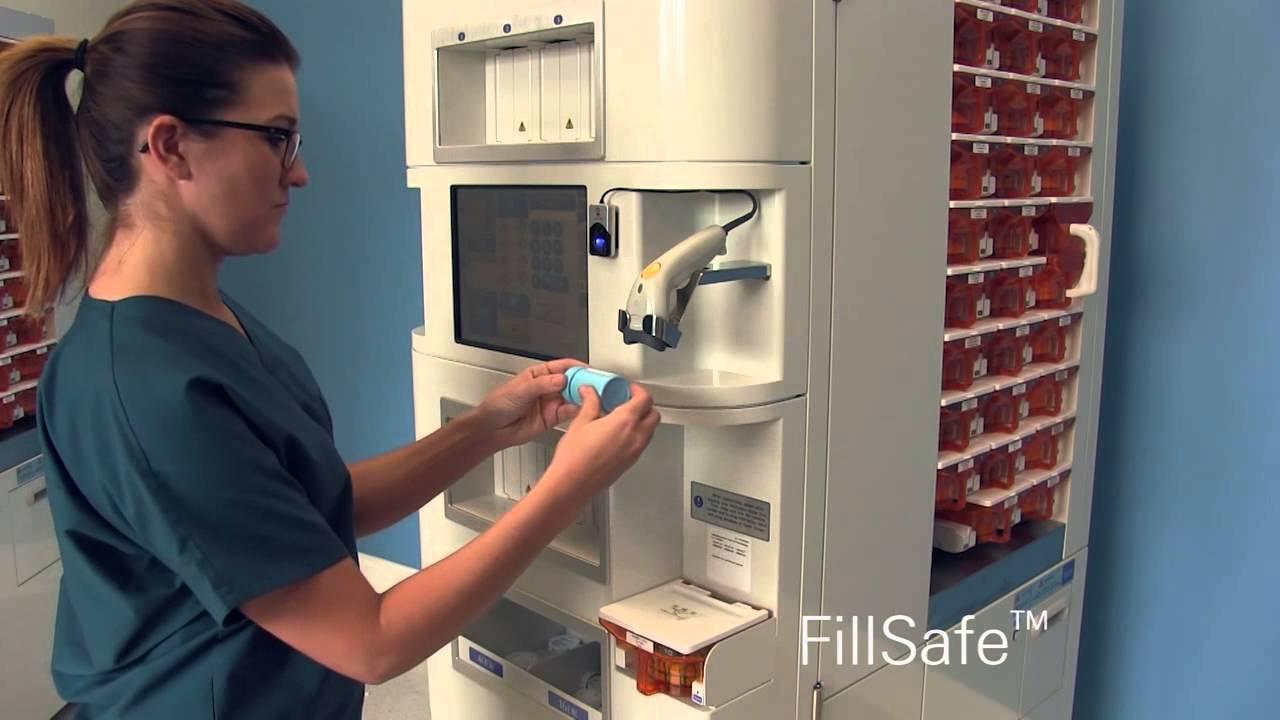 Kirby Lester KL60 and KL100 pharmacy robotic dispensing