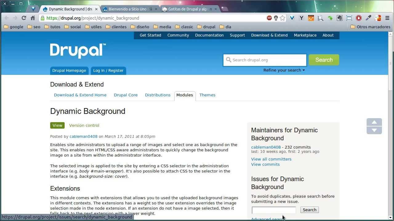 Como usar o background image no css - M Dulo Dynamic Background