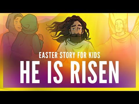 Sunday School Lessons: He Is Risen Easter Story For Kids | ShareFaith.com