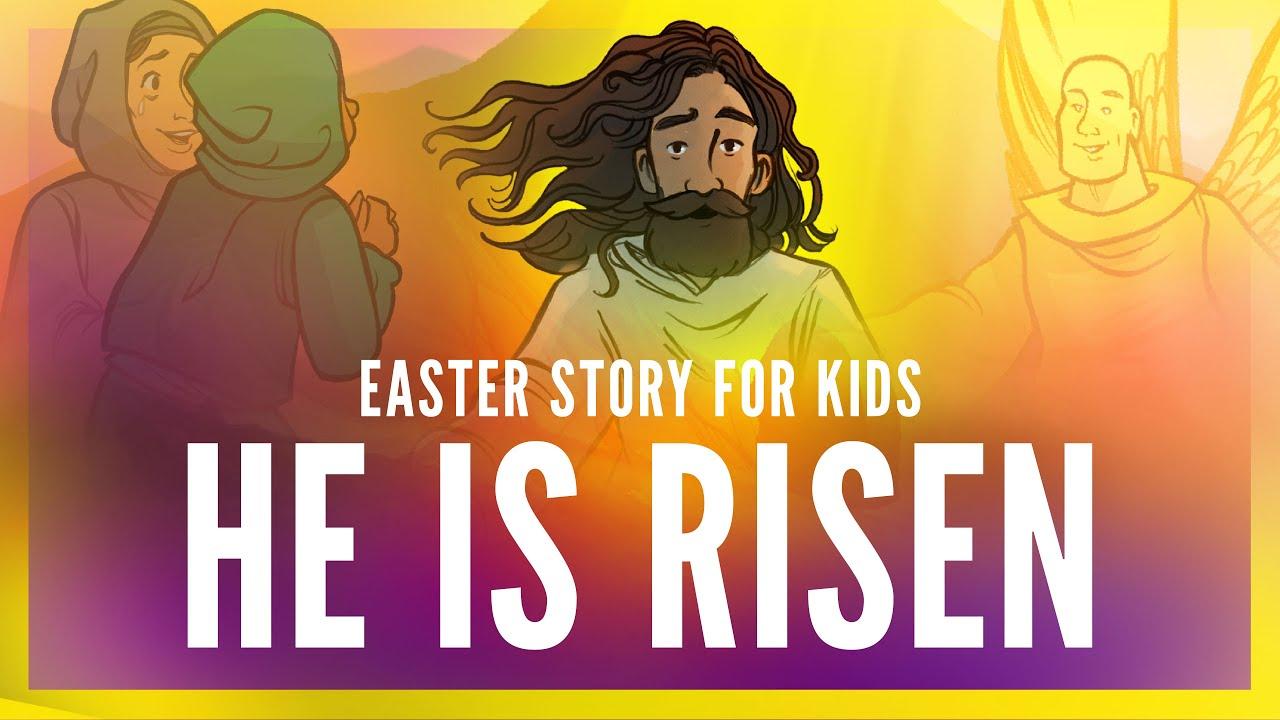 He Is Risen Sunday School Craft