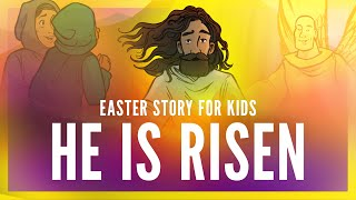 Sunday School Lessons: He Is Risen Easter Story For Kids | ShareFaithKids.com