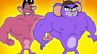 Rat A Tat Giant Mice Brothers And Monster Plant Fun Unlimited Chotoonz Kids Funny Cartoon Videos