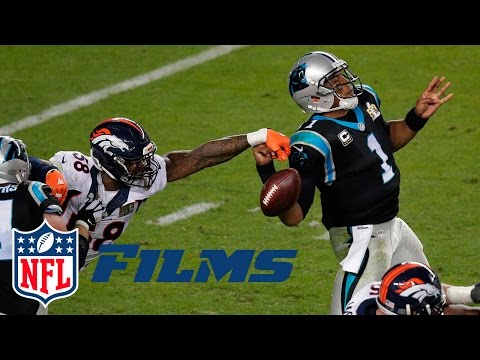 Von Miller Gets to Cam Newton | Super Bowl 50: Panthers vs. Broncos | NFL Turning Point | NFL Films