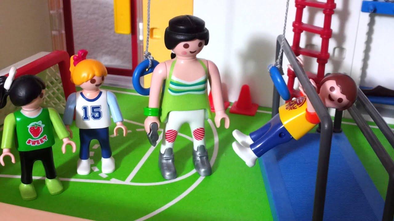 der schulcup playmobil schule turnhalle tasse de sport 233 cole