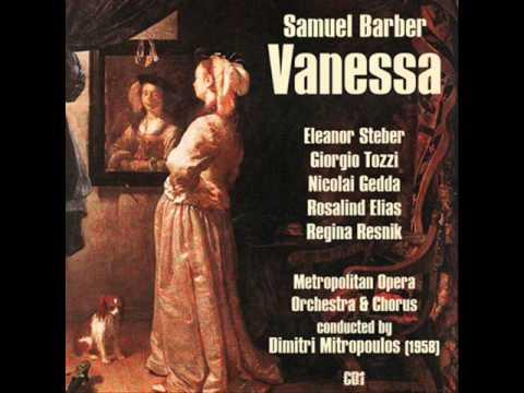 "Vanessa: Act I: ""Potage Crème Aux Perles"""
