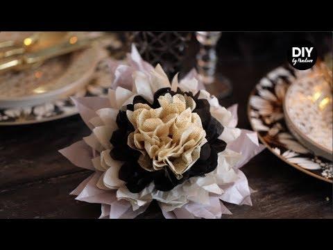 Panduro DIY – Paper Flowers Party decorations