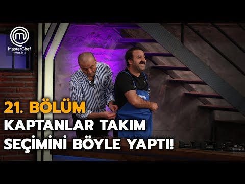 MasterChef Türkiye'de Haftanın Takımları Belirlendi!  | 21. Bölüm | MasterChef Türkiye
