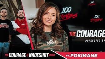 Pokimane - The CouRage and Nadeshot Show #2