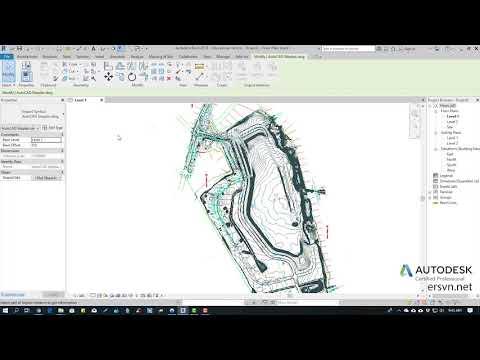 Hướng dẫn sử dụng Revit Architecture 2019 | Bài 34: Tạo địa hình trong Revit
