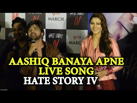Aashiq Banaya Aapne Live Singing by Himesh Reshamiya & Neha Kakkar | Urvashi Rautela Hate Story 4 thumbnail