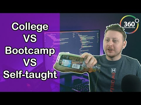 College VS Bootcamp VS Self-taught | Which Path is the Best to Learn to Code? | Ask a Dev