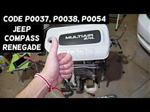 JEEP COMPASS RENEGADE 2.4 CODE P0037, P0038, P0054 ENGINE LIGHT ON FIX from YouTube · Duration:  5 minutes 13 seconds