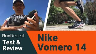 Nike Air Zoom Vomero 14 test & review - Training-to-racing running shoe