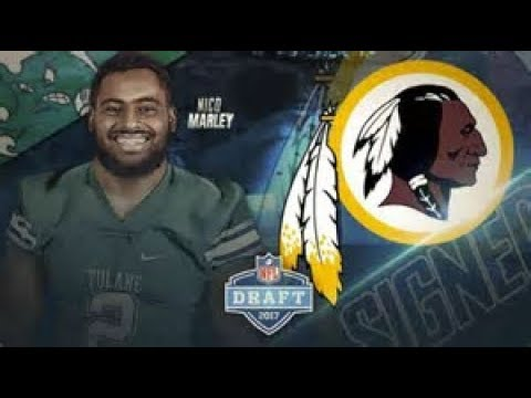 The Washington Redskins Signs LB Nico Marley