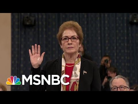 Tribe: Trump's Attacks On Marie Yovanovitch Are 'Witness Intimidation' | The Last Word | MSNBC