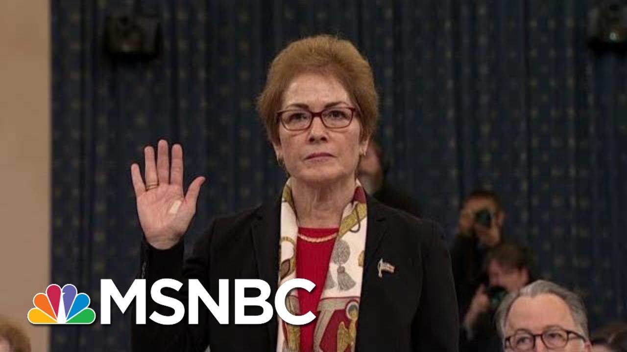 Why Trump Attacked Marie Yovanovitch