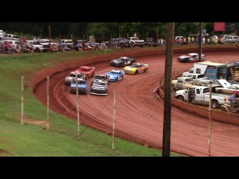 Winder Barrow Speedway Modified Street Feature Race 7/9/16