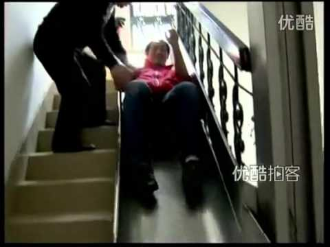 A Shanghai senior invented an escape slide